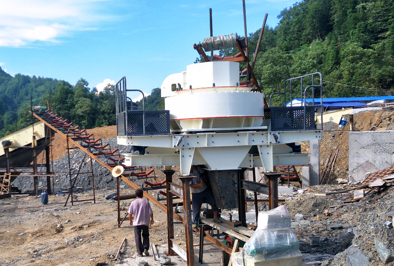 Basalt Sand Making Plant in Philippines